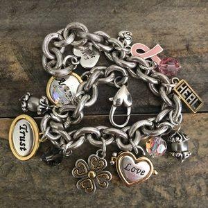 Brighton | Power of Pink Charm Bracelet